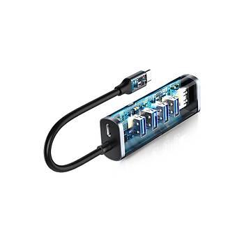 Baseus Enjoy Type C Hub USB 3.0 Dönüþtürücü