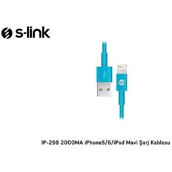 S-Lýnk 2A Iphone Lightning Usb Data Þarj Kablosu Mavi