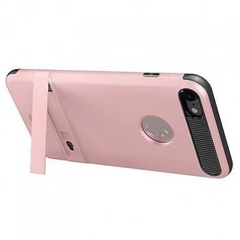 Baseus iBracket Serisi iPhone 7 / 8 Gizli Standlý Kýlýf Rose Gold