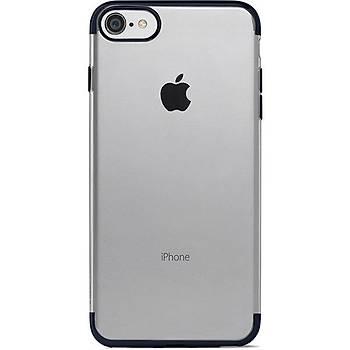 Ttec ChromeClear Apple iPhone 8 Plus / iPhone 7 Plus Kýlýf Siyah