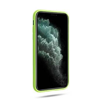 Roar All-Day Jelly Serisi Full Koruma iPhone 11 Kýlýf Mint Yeþili