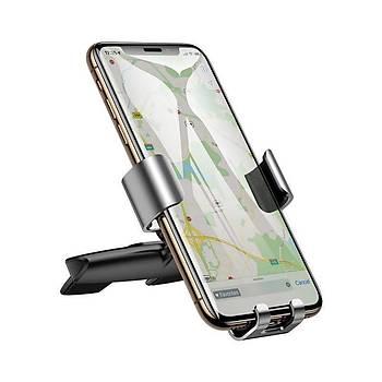 Baseus Metal Age Gravity Serisi 360° Açýlý Araç Ýçi Telefon Tutucu Beyaz