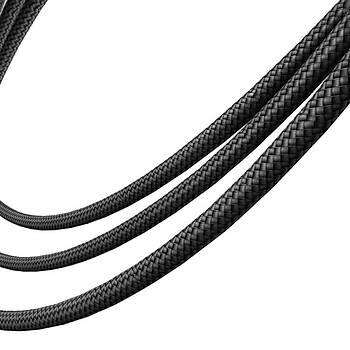 Baseusen Belt Çelik Örgü Kopmaz USB 3.0 1M Type-C Þarj Kablosu