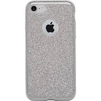 Ttec Stardust Serisi Apple iPhone 7 / iPhone 8 Kýlýf Gümüþ