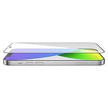 KinGcase Ýphone 12 Pro Max Seramik Nano Ekran Koruyucu 9D Tam Kaplama