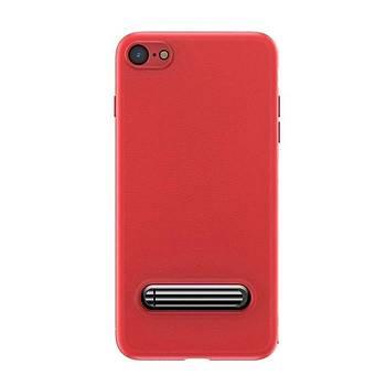 Baseus iPhone 7 / 8 Happy Watching Supporting Kýlýf Kýrmýzý
