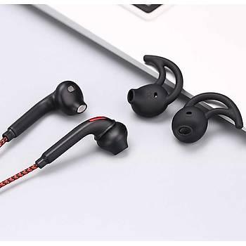 Xipin HX740 Kulak içi Stereo Kulaklýk 3.5 mm Jack Siyah-Kýrmýzý