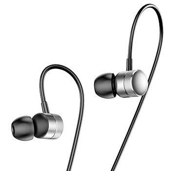Baseus Encok Wire H04 Serisi Kulakiçi Mikrofonlu Kulaklýk Gümüþ