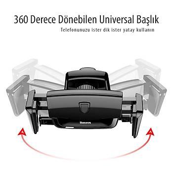 Baseus Robot Air Vent Kýskaçlý Araç Tutucu Kýrmýzý