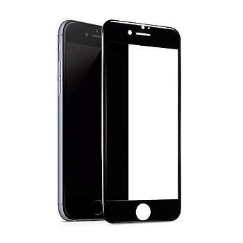AntDesign 6D Eðimli Ön Panel iPhone 8 Cam Ekran Koruyucu Siyah
