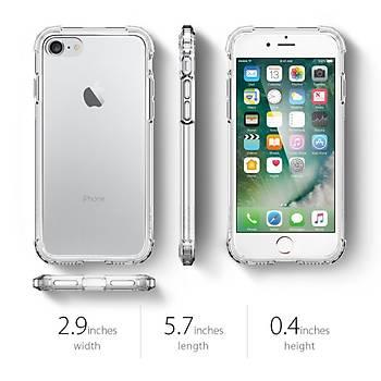 Spigen Crystal Shell iPhone 7 / iPhone 8 Kýlýf Crystal Clear