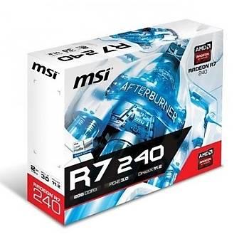 MSI R7 240 2Gd3 Lpv1 2Gb Vga/Dvý/HDMI Ekran Kartý