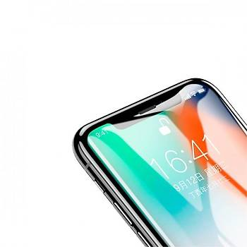 Baseus iPhone X/XS 5.8 0.2mm Tam Kaplayan Cam Ekran Koruyucu