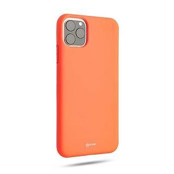 Roar All-Day Jelly Serisi Full Koruma iPhone 11 Pro Max Kýlýf Gri