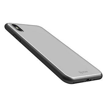 Roar Apple iPhone XS Max 6.5 Kýlýf Mira Glass Back Cover