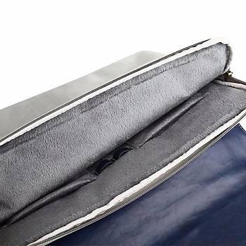 Baseus British Serisi Laptop Çantasý 14 inch Mavi-Gri