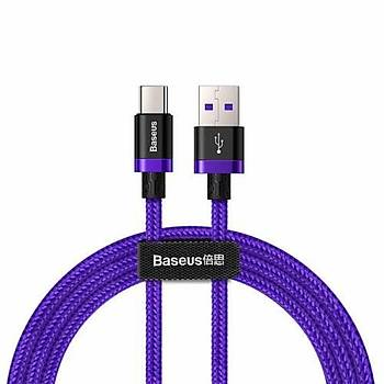 Baseus Huawei Hýzlý Þarj Type-C Kablo 40W 2Metre Purple