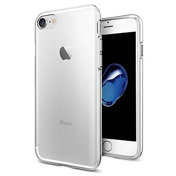 Spigen iPhone 7/8 Liquid Crystal 4 Tarafý Kapalý Kýlýf Crystal