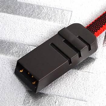 Zore Mest Protec Type-C Usb Kablo 1M 2.4A Kýrmýzý