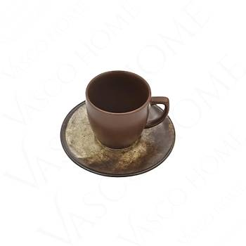 Kahverengi Kahve Fincan Takımı