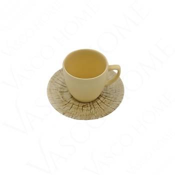 Çatlak Desenli Kahve Fincan Takımı