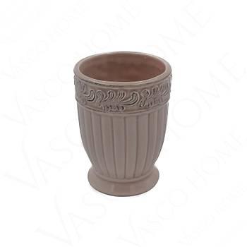4'Lü Porselen Stoneware Yavru Aðzý Banyo Seti