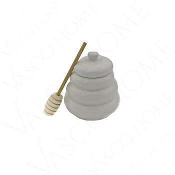 Bambu Porselen Oval Ballık Reçellik