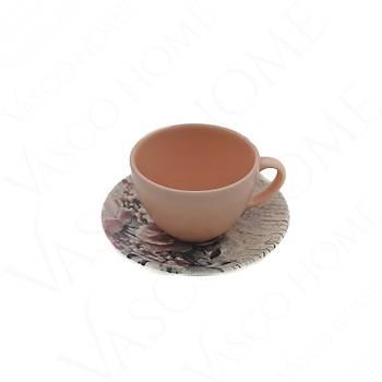 Güllü Çay Fincan Takımı