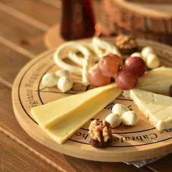 Bambu Dönen Peynir Tabağı
