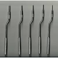 Sinus Lift Seti / Osteotom Seti - Stoperli - Ayarlanabilir - Dýþ Bükey - 5 Parça