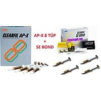 KURARAY Clearfýl Ap-X Set 8 Tüp + Se Bond