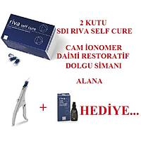 SDI Riva Self Cure Cam Ionomer Daimi Restoratif Dolgu Simaný Kampanyasý ( 100 Adet )