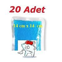 Termo Jel Sýcak Soðuk Kompres(12 Cm X 12 Cm ) 20 Adet Dental Kompres
