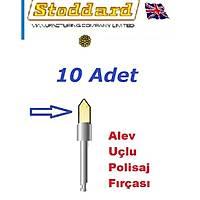 STODDARD Polisaj / Detertraj Fýrçasý -Alev Uçlu - Knot Point / Naturel Kýl - 10 Adet ( Ýngiltere )