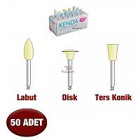 KENDA Kompozit Parlatma Lastiði - 50 Adet -Sarý Model Seçebilirsiniz