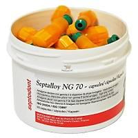 SEPTODONT Septalloy Kapsül Amalgam 1   Lik %70 Gümüþ