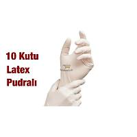 PERFECT TOUCH Latex Pudralý Muayene Eldiveni 10 Kutu ( Kargo Dahil ) boy Seçiniz