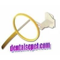 KERR Paro-Bite kemik ölçümü yapmak için üretilmiþ film tutucu. ýsýrtma film - dikey (periodontal )