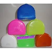 Protez Kutusu Çeþitli Renklerde 50 Adet