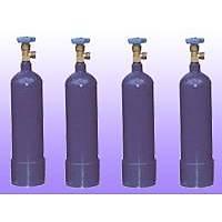 Oksijen Tüpü 2 Lt. Aluminyum Gövde