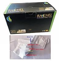 STR - RACHEL 3 Katlý- Burun Telli Lastikli 1. Sýnýf Beyaz Maske