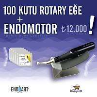 100 Paket Endoart Kanal Eðesi + WSM Apex Locatorlu Endomotor (Rotary + Respirok)