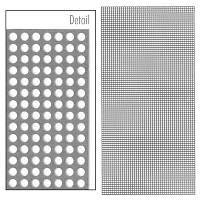 ACE SURGÝCAL Micro Mesh Titanyum Büyültme Aðý 120x60 mm / .1 mm