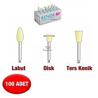 KENDA Kompozit Parlatma Lastiði - 100 Adet -Sarý Model Seçebilirsiniz
