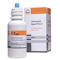 Antiseptik sývý No.1 -% 2 klorheksidin bigluconat