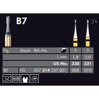 Meisinger Black Cobra Carpide Frez 5 Adet ( B7 Model )