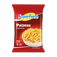 SUPER FRESH PATATES KLASÝK 7X7 2,50 KG