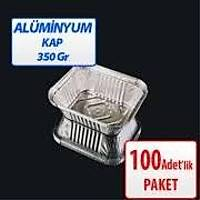 ALÜMÝNYUM KASE KAPAKLI 350 GR