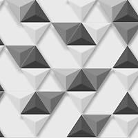 Hexagone L575-09 3D Piramit Model Duvar Kaðýdý