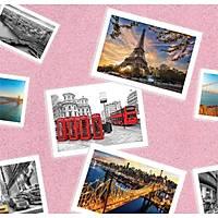 Pop Art 512014 Kartpostal Desenli Duvar Kaðýdý